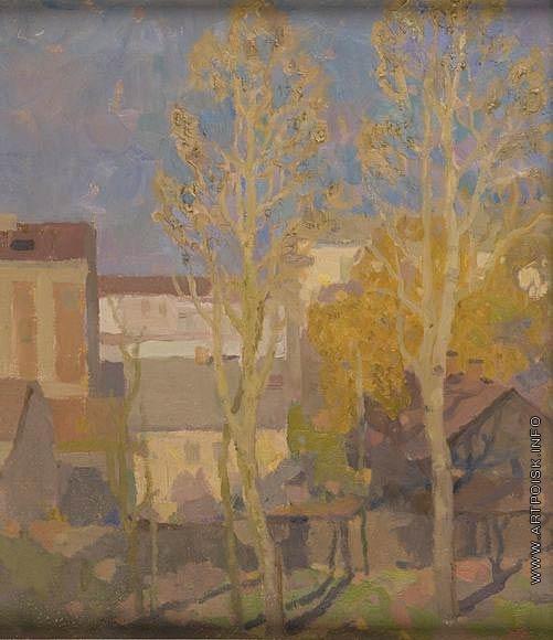 Солодов В. С. Осень из окна