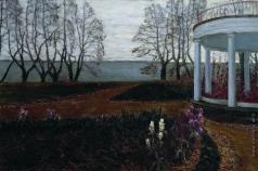 Бялыницкий-Бируля В. К. Осень. Беседка