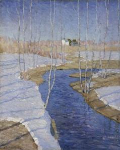 Бялыницкий-Бируля В. К. Ранней весной