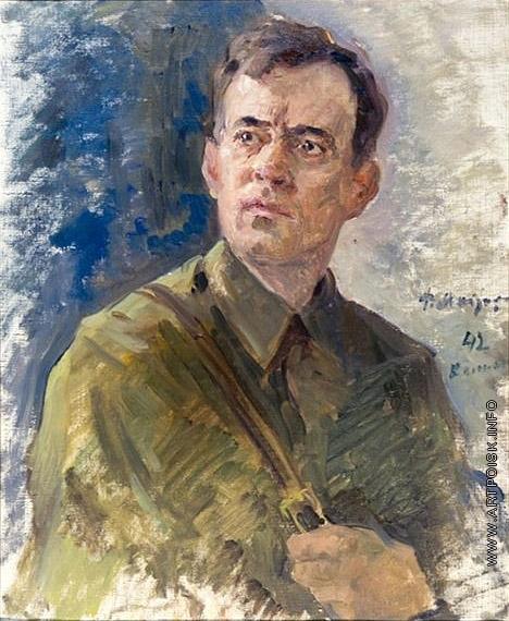 Модоров Ф. А. Портрет партизана Кривоносова Феодосия Алексеевича