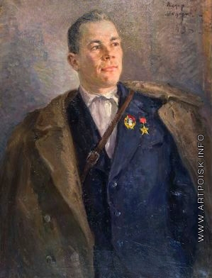 Модоров Ф. А. Портрет партизана А. Ижухина