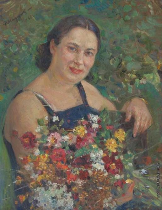 Модоров Ф. А. Портрет моей жены