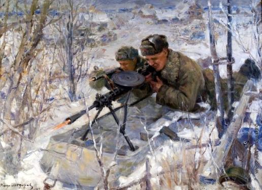 Модоров Ф. А. Пулеметные снайперы