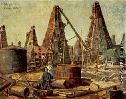 Модоров Ф. А. Нефтяные промыслы. Баку