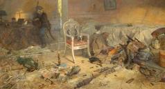 Рыженко П. В. Ипатьевский дом. Расстрел (№3 из Триптиха «Царская Голгофа». Заточение-2)
