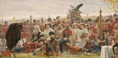 Рыженко П. В. Фотография на память (№2 из Триптиха «Русский век»)