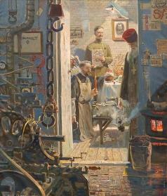 Рыженко П. В. Пасха в Париже (№3 из Триптиха «Русский век»)