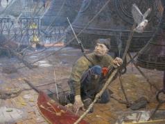 Рыженко П. В. Удар колокола (№1 из Триптиха «Покаяние»)