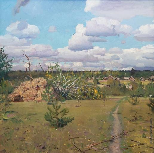 Рыженко П. В. В лесах