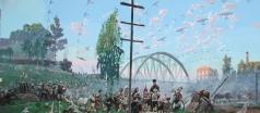 Рыженко П. В. «Начало войны 1941 года». Левая часть диптиха