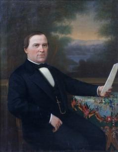 Крылов Г. Ф. Портрет актера М.П. Владиславлева