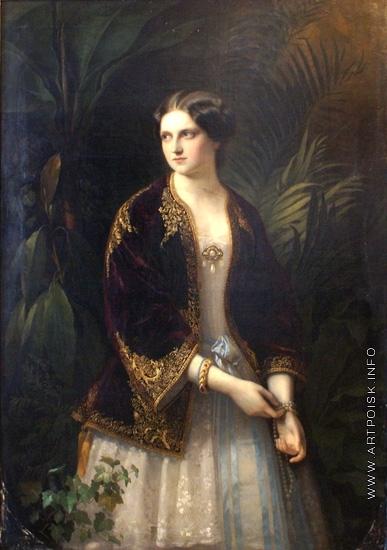 Нефф Т. А. Портрет великой княгини Екатерины Михайловны
