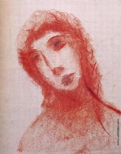 Чекрыгин В. Н. Женский портрет
