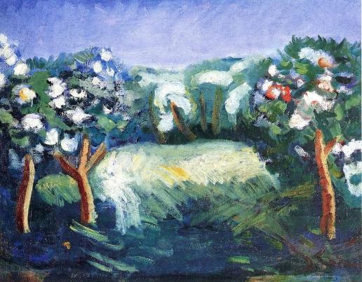Чекрыгин В. Н. Голубой сад