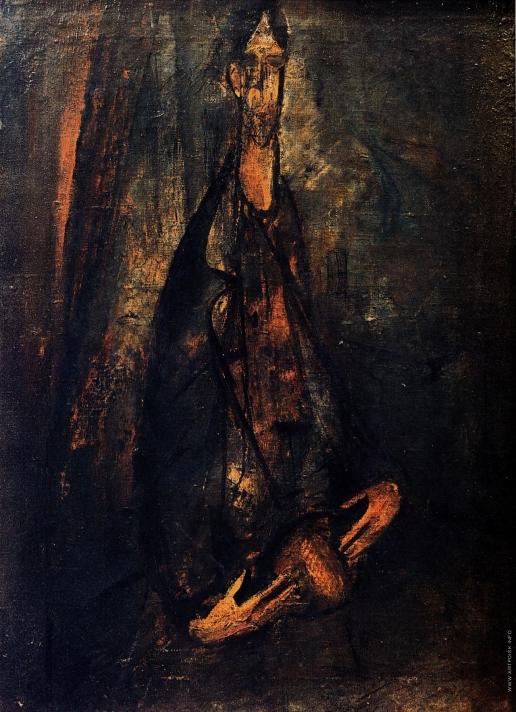 Чекрыгин В. Н. Портрет В.Е.Татлина (Посвящается Сезанну и Эль Греко)
