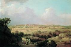 Чернецов Г. Г. Вид Иерусалима с Елеонской горы