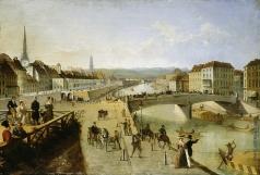 Чернецов Г. Г. Мост Фердинанда в Вене