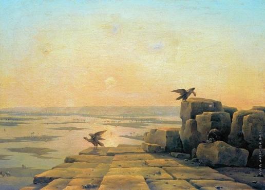 Чернецов Г. Г. Разлив Нила