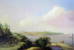 Чернецов Н. Г. Вид города Ярославля