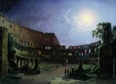 Чернецов Н. Г. Колизей в лунную ночь