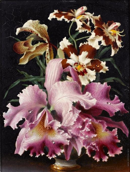 Чистовский Л. С. Орхидеи в вазе