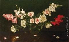 Чистовский Л. С. Лилии и розы