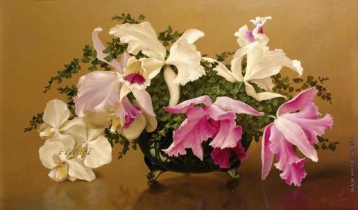 Чистовский Л. С. Цветочная композиция с орхидеями