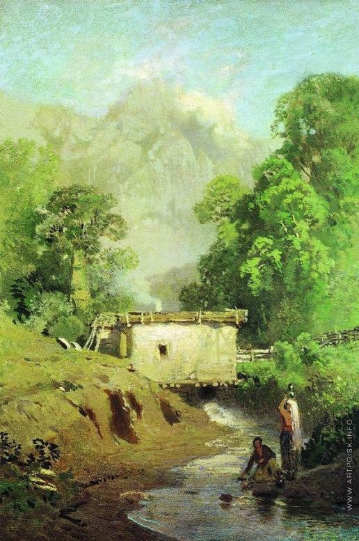 Васильев Ф. А. Крымский пейзаж. 1871-