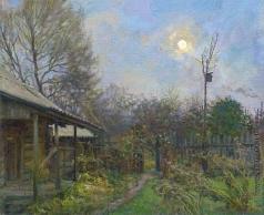 Цветков В. А. Осенний вечер. Луна