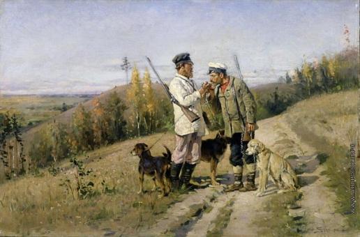 Маковский В. Е. Охотники