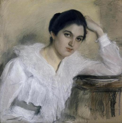 Серов В. А. Портрет М.П. Хрущевой