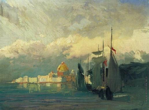 Васильев Ф. А. На Неве. 1869-