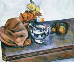 Куприн А. В. Натюрморт с чайником и искусственными цветами