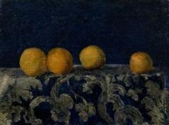 Ларионов М. Ф. Натюрморт с апельсинами