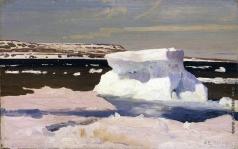 Борисов А. А. Карское море. Вид Новой земли