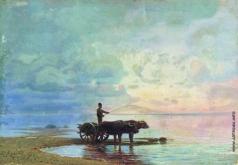 Васильев Ф. А. На берегу моря. 1871-