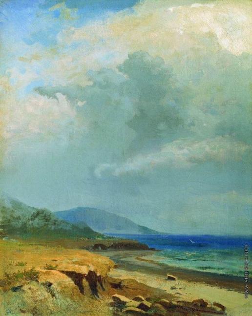 Васильев Ф. А. Пейзаж. Крым. 1871-