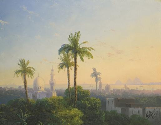 Айвазовский И. К. Вид на Каир