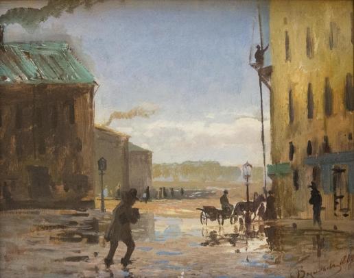 Васильев Ф. А. После дождя (Весна в Петербурге)