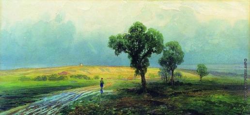 Васильев Ф. А. После проливного дождя