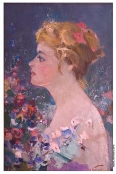 Баскаков Н. Н. Женский портрет
