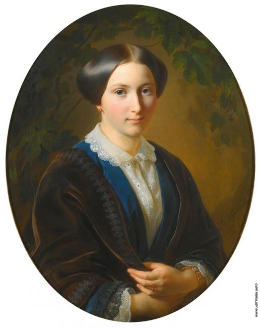 Худяков В. Г. Женский портрет