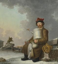 Патерсен Б. Петербургский продавец сбитня
