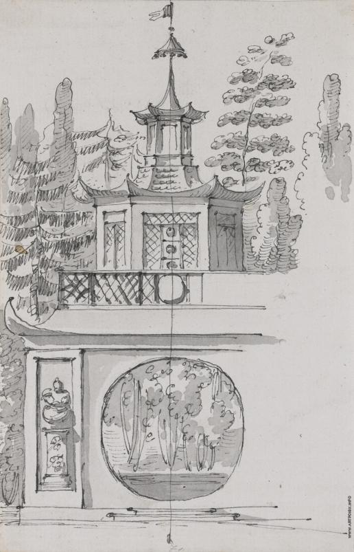 Кваренги Д. Китайская пагода