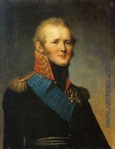 Щукин С. С. Портрет императора Александра I