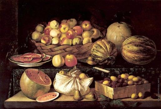 Хруцкий И. Ф. Фрукты и овощи
