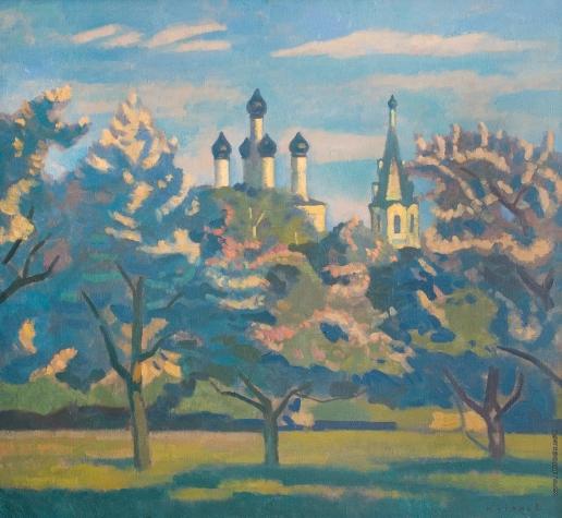 Иванов В. И. Весна в Переславле