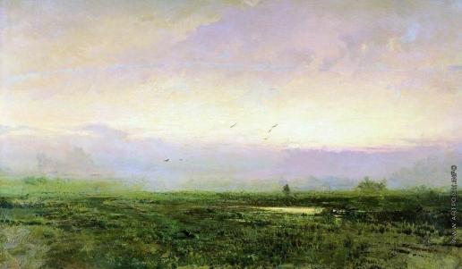 Васильев Ф. А. Утро. 1871-