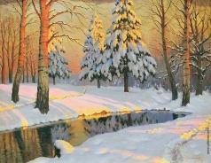 Гермашев М. М. Зимой в лесу