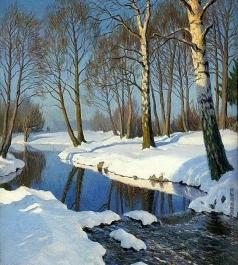 Гермашев М. М. Зима в лесу